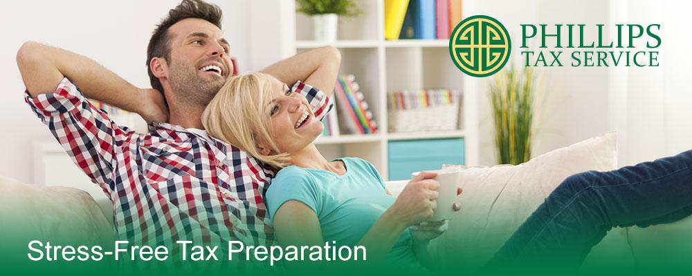 Stress Free Tax Preparation